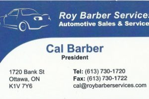 Roy Barber Services Logo Scan